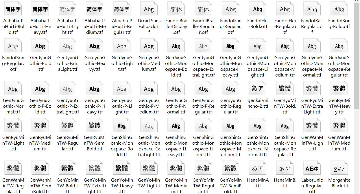 免费可商用字体141个 免侵权风险 精品软件